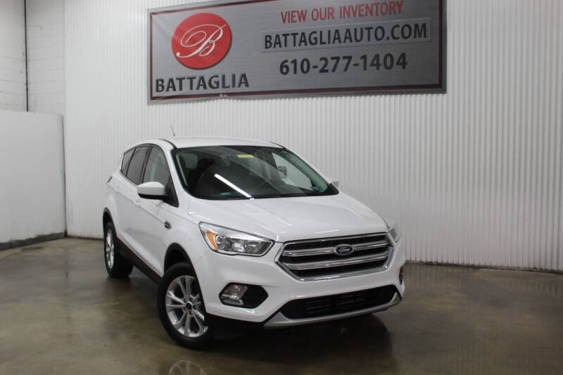 2017 Ford Escape for sale at Battaglia Auto Sales in Plymouth Meeting PA