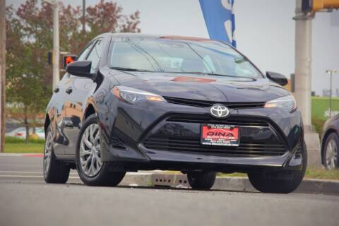 2019 Toyota Corolla for sale at Dina Auto Sales in Paterson NJ