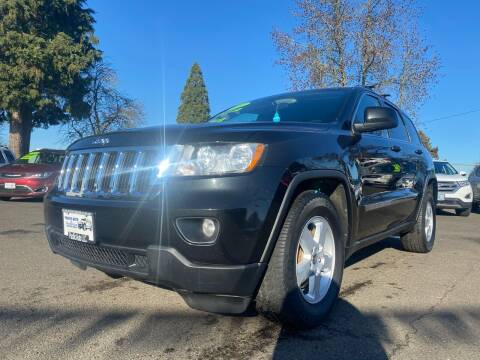 2011 Jeep Grand Cherokee for sale at Pacific Auto LLC in Woodburn OR