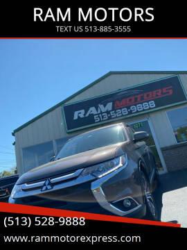 2017 Mitsubishi Outlander for sale at RAM MOTORS in Cincinnati OH
