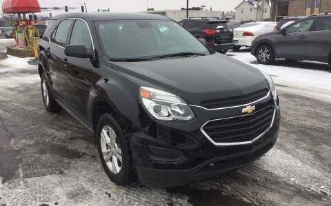 2017 Chevrolet Equinox for sale at Carney Auto Sales in Austin MN
