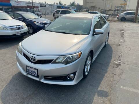 2012 Toyota Camry for sale at 101 Auto Sales in Sacramento CA