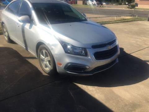 2015 Chevrolet Cruze for sale at ARKLATEX AUTO in Texarkana TX