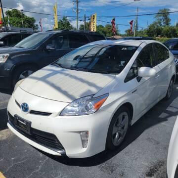 2013 Toyota Prius for sale at America Auto Wholesale Inc in Miami FL