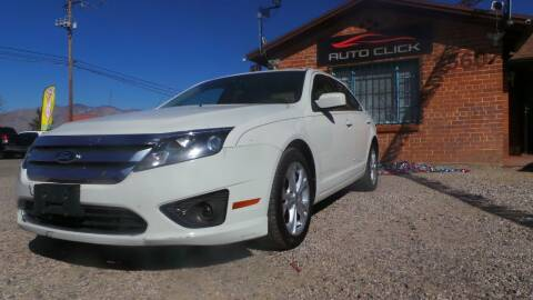 2012 Ford Fusion for sale at Auto Click in Tucson AZ