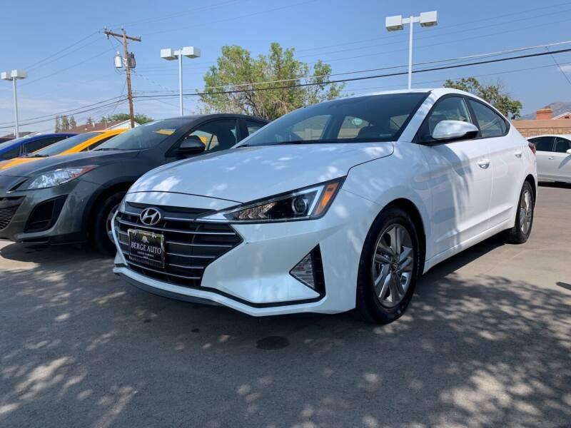 2019 Hyundai Elantra for sale at Berge Auto in Orem UT