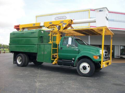 2005 Ford F750 Chip Truck for sale at Classics Truck and Equipment Sales in Cadiz KY