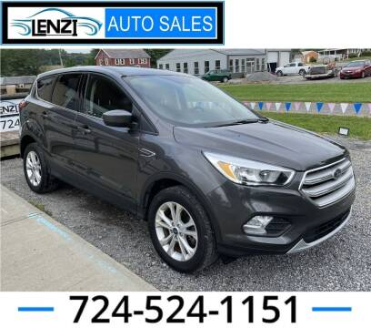2019 Ford Escape for sale at LENZI AUTO SALES in Sarver PA