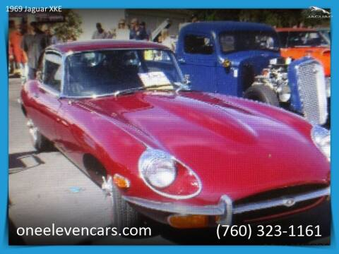 1969 Jaguar XKE for sale at One Eleven Vintage Cars in Palm Springs CA