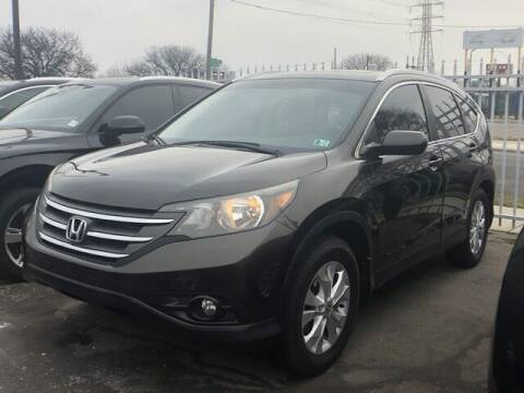 2014 Honda CR-V for sale at SOUTHFIELD QUALITY CARS in Detroit MI