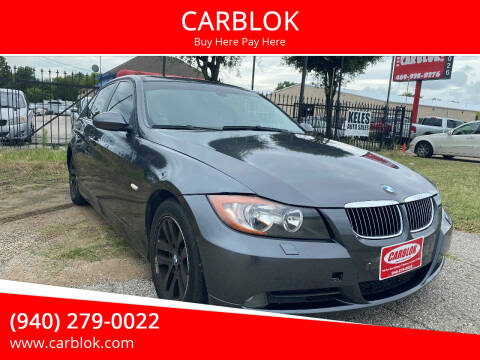 2007 BMW 3 Series for sale at CARBLOK in Lewisville TX