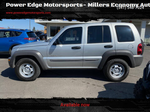 2002 Jeep Liberty for sale at Power Edge Motorsports- Millers Economy Auto in Redmond OR
