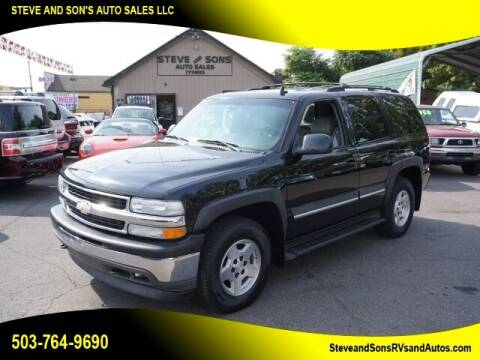 2006 Chevrolet Tahoe for sale at Steve & Sons Auto Sales in Happy Valley OR