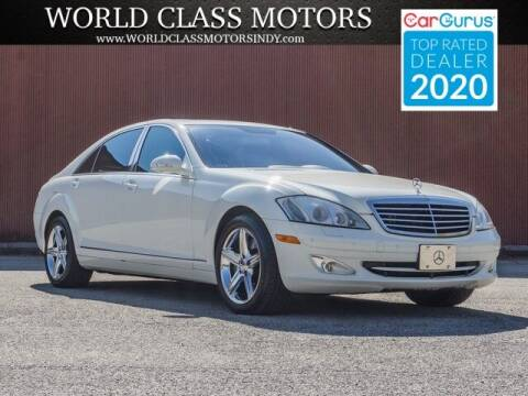 2009 Mercedes-Benz S-Class for sale at World Class Motors LLC in Noblesville IN