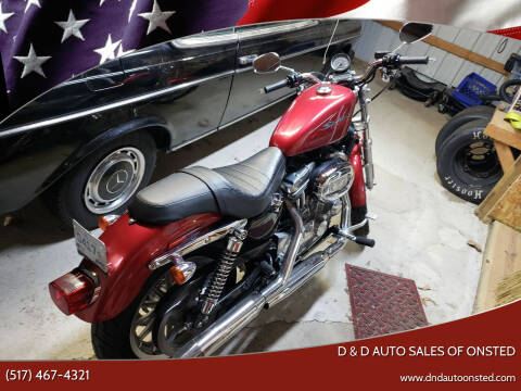 2004 Harley Sportster for sale at D & D Auto Sales Of Onsted in Onsted   Brooklyn MI