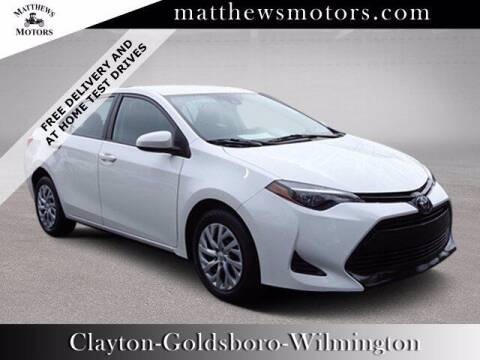 2019 Toyota Corolla for sale at Auto Finance of Raleigh in Raleigh NC