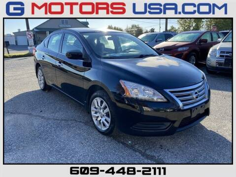 2014 Nissan Sentra for sale at G Motors in Monroe NJ