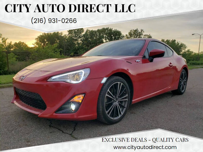 2016 Scion FR-S for sale at City Auto Direct LLC in Cleveland OH