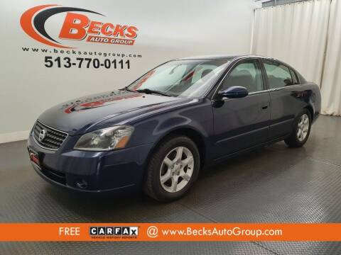 2005 Nissan Altima for sale at Becks Auto Group in Mason OH