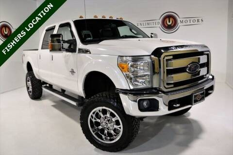 2016 Ford F-250 Super Duty for sale at Unlimited Motors in Fishers IN