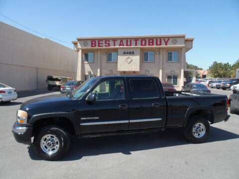 2005 GMC Sierra 2500HD for sale at Best Auto Buy in Las Vegas NV