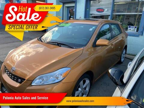 2009 Toyota Matrix for sale at Polonia Auto Sales and Service in Hyde Park MA