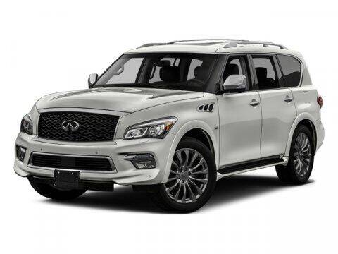 2017 Infiniti QX80 for sale at Hawk Ford of St. Charles in Saint Charles IL
