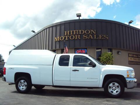 2013 Chevrolet Silverado 1500 for sale at Hibdon Motor Sales in Clinton Township MI