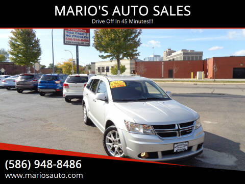 2011 Dodge Journey for sale at MARIO'S AUTO SALES in Mount Clemens MI