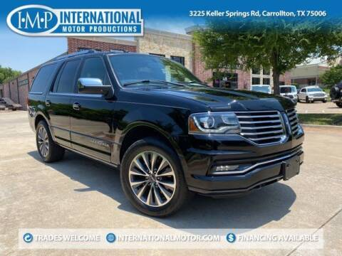 2016 Lincoln Navigator for sale at International Motor Productions in Carrollton TX