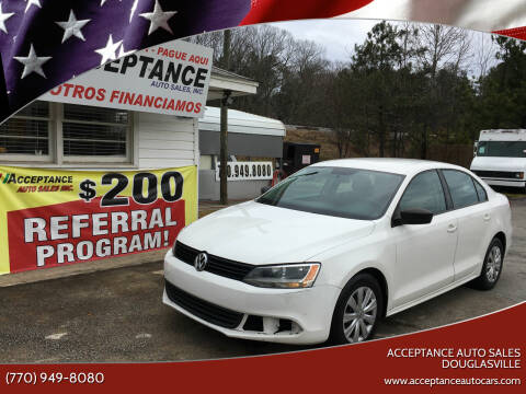2011 Volkswagen Jetta for sale at Acceptance Auto Sales Douglasville in Douglasville GA
