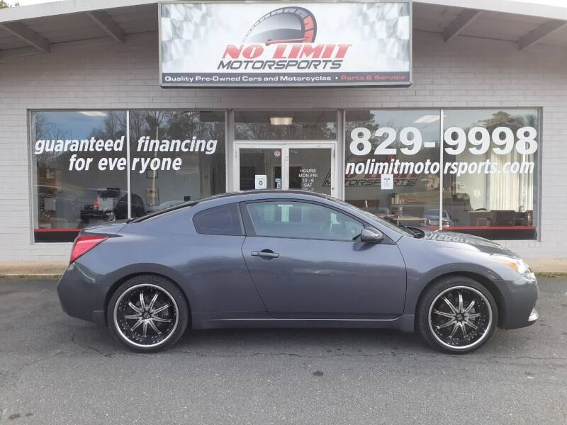2011 Nissan Altima for sale at NO LIMIT MOTORSPORTS in Belmont NC