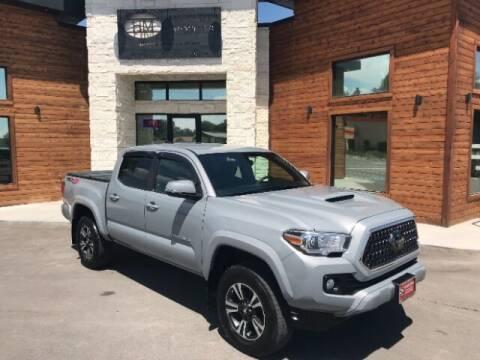 2018 Toyota Tacoma for sale at Hamilton Motors in Lehi UT