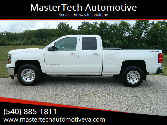 2014 Chevrolet Silverado 1500 for sale at MasterTech Automotive in Staunton VA
