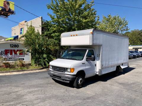 2003 Ford E-Series Chassis for sale at Five Brothers Auto Sales in Roswell GA