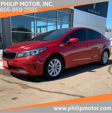 2017 Kia Forte for sale at Philip Motor Inc in Philip SD