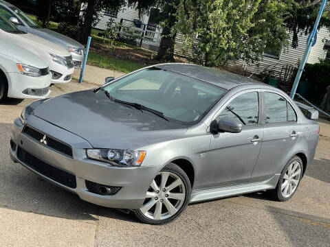 2015 Mitsubishi Lancer for sale at Exclusive Auto Group in Cleveland OH