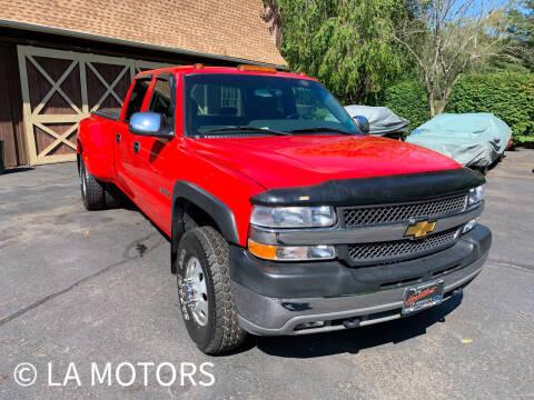 2001 Chevrolet Silverado 3500 for sale at LA Motors in Waterbury CT