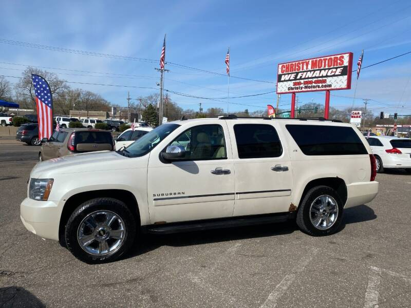 2010 Chevrolet Suburban for sale at Christy Motors in Crystal MN