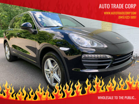 2012 Porsche Cayenne for sale at AUTO TRADE CORP in Nanuet NY