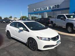 2013 Honda Civic for sale at Cj king of car loans/JJ's Best Auto Sales in Troy MI