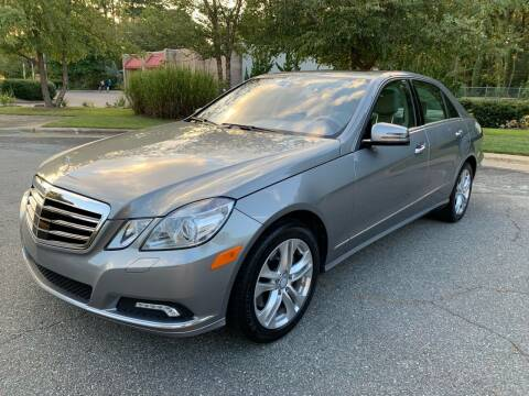 2010 Mercedes-Benz E-Class for sale at Triangle Motors Inc in Raleigh NC