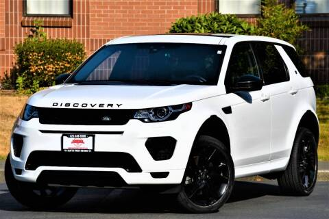 2018 Land Rover Discovery Sport for sale at SEATTLE FINEST MOTORS in Lynnwood WA