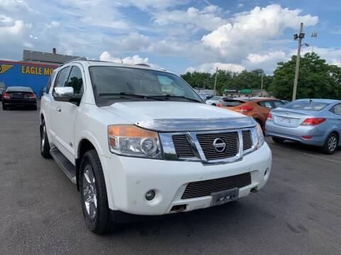 2009 Nissan Armada for sale at Eagle Motors in Hamilton OH