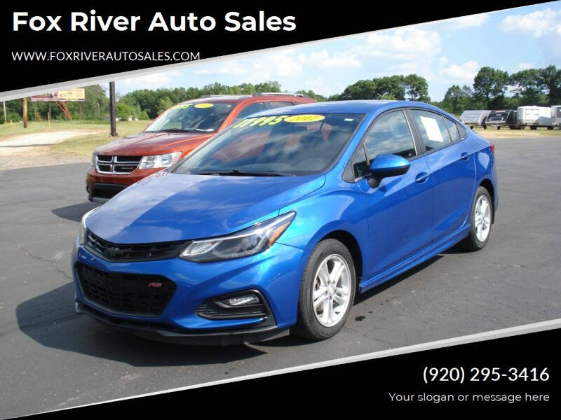 2017 Chevrolet Cruze for sale at Fox River Auto Sales in Princeton WI