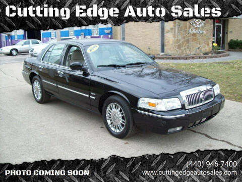 2010 Mercury Grand Marquis for sale at Cutting Edge Auto Sales in Willoughby OH