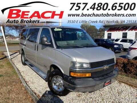 2006 Chevrolet Express Passenger for sale at Beach Auto Brokers in Norfolk VA