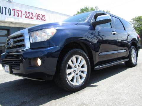 2008 Toyota Sequoia for sale at Trimax Auto Group in Norfolk VA