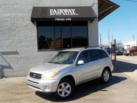 2005 Toyota RAV4 for sale at FAIRWAY AUTO SALES, INC. in Melrose Park IL