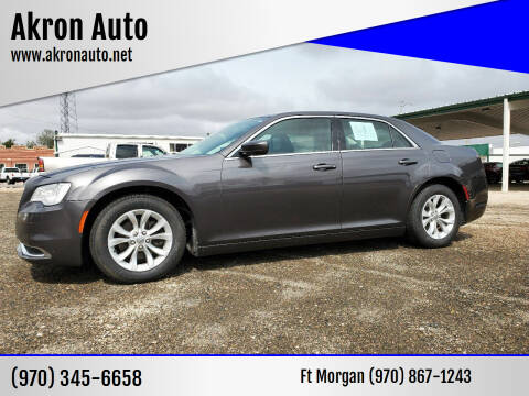 2016 Chrysler 300 for sale at Akron Auto - Fort Morgan in Fort Morgan CO
